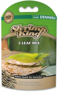 DENNERLE pokarm dla krewetek Shrimp King 5 Leaf Mix